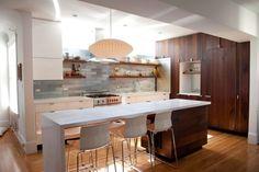 Jan Hammock's Light Blue and Dark Wood Modern Kitchen, Winner, 2013 Remodelista Considered Design Awards - Beautiful!