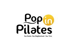 """Check out new work on my @Behance portfolio: """"Pop in Pilates  -  Logo Design"""" http://be.net/gallery/38560645/Pop-in-Pilates-Logo-Design"""