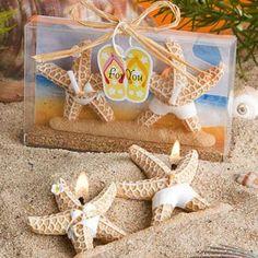 Vela Casal Estrelas do Mar com Roupa de Banho