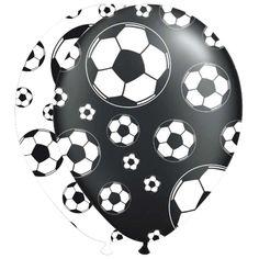 Voetbal Ballonnen - 8 stuks.