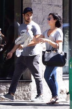 Demi Lovato and Wilmer Valderrama out in Vancouver - July 19th