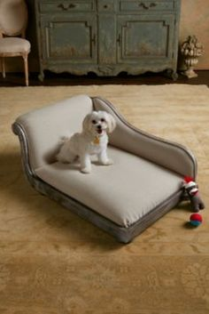 Coco Chaise Dog Bed from Soft Surroundings