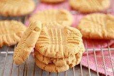 3 Ingredient Peanut Butter Cookies Recipe