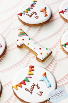 Adorable birthday cookies