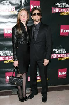 Nicole Smith and Jason Newsted of Metallica