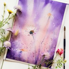 Lawn and Garden Tools Basics Ingen Fotobeskrivning Tillgnglig. Watercolor Flowers, Watercolor Paintings, Watercolor Drawing, Silhouette Painting, Watercolor Projects, Aesthetic Painting, Guache, Sketch Painting, Art Drawings