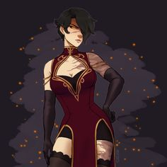 RWBY Art Challenge Day I hope Cinder gets a cool outfit when she regains her confidence Fantasy Character Design, Character Drawing, Character Concept, Character Inspiration, Rwby Characters, Fantasy Characters, Female Characters, Rwby Anime, Rwby Fanart