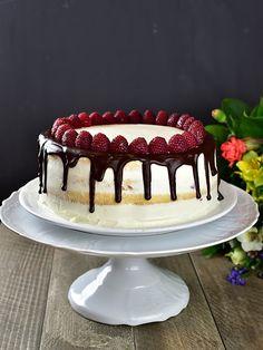 Slavnostní narozeninový dort - piškot + mascarpone krém Tiramisu, Panna Cotta, Cheesecake, Ethnic Recipes, Food, Cakes, Ideas, Mascarpone, Dulce De Leche