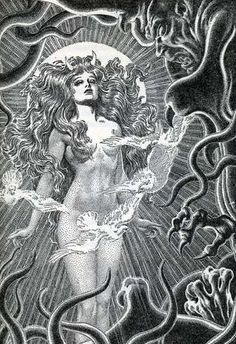 Virgil Finlay. Pulp Magazine Art | El arte de Virgil Finlay (Pulp Art) - Taringa!