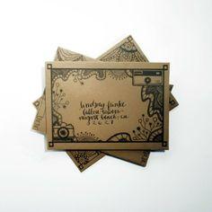 Drawn frame. Envelopes. Snail mail. Simple easy DIY. Free DIY Mail Art Envelope Template | The Postman's Knock