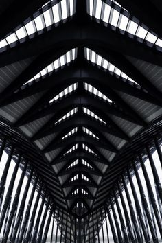 Alexandre Basso submitted:  Some photographs of the Saint Exupéry train terminal made by Calatrava. #Architecture