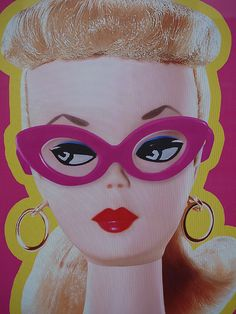 Forever Barbie exhibition poster, Melbourne by theihno, via Flickr