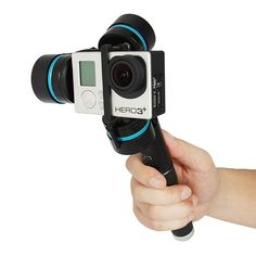 Feiyu Tech FY G3 Steadycam Gopro3 Handheld 3-Axis RC PTZ Brushless Gimbal for FPV Aerial Photography
