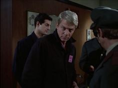 "Jim Phelps and Willy Armitage as repairmen - Mission: Impossible TV show (S2, Ep25, ""Recovery"")"