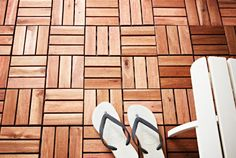 IKEA Outdoor flooring