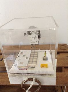 Caja de metacrilato 13x13cm