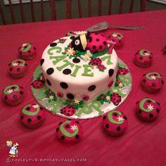 Cutest Ladybug Birthday Cake...
