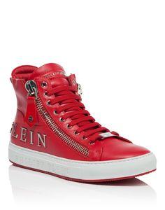 "PHILIPP PLEIN HIGH SNEAKERS ""VIBES"". #philippplein #shoes #"