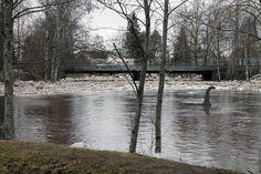 Kuva 19.4. Jäät lähtevät Saarikentältä.