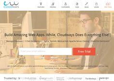 Cloudways #webdesign #inspiration #UI Vote for us!