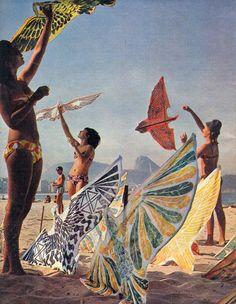 Kite flying in the '60s
