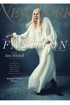Joni Mitchell Tells Harrowing Tale Of Being Chanel-Shamed #refinery29  http://www.refinery29.com/2015/02/82045/joni-mitchell-new-york-magazine#slide-3  New York Magazine's spring fashion issue is floating ethereally on newsstands now.