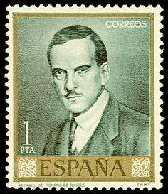 postage stamps from spain | Spain postage stamp - artist Julio Romero de ... | Julio Romero de T ..