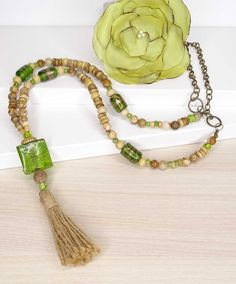 VITHRASHOP Bijoux Diy, Tassel Necklace, Tassels, Jewelry, Fashion, Handmade Bracelets, Diamond Necklaces, Bangle Bracelets, Collares Largos