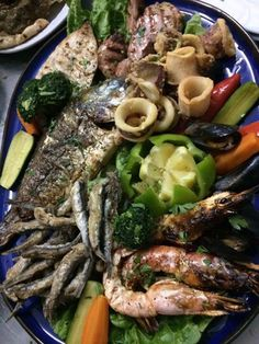 Fresh seafood at Greek Taverna Mamma Mia