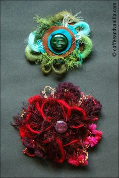 DIY Felt Brooches for Moms, Aunties and Grannies – Christmas Gift Ideas