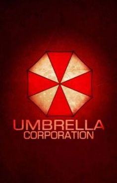Umbrella Corporation from 'Resident Evil'. Resident Evil 5, Resident Evil Video Game, Constantin Film, Evil Games, Games Zombie, Umbrella Corporation, Milla Jovovich, Red Dead Redemption, Game Art