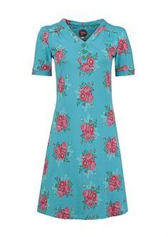 Tante Betsy kjole FANNY les fleurs blue