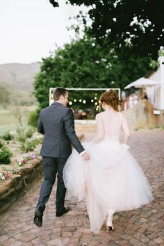 Run away with me! Beautifully ethereal yet documentary style wedding photography. Whimsical Flower Farm Wedding - Claire Thomson Photography http://www.confettidaydreams.com/whimsical-flower-farm-wedding-claire-thomson-photography/