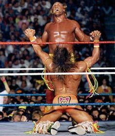 Hulk Hogan and The Ultimate Warrior