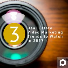 [New] Are you using video marketing to promote your listings? Learn more here: https://www.paradym.com/blog/3-real-estate-video-marketing-trends-watch-2017/ #realestatemarketing #realestate