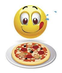 An entire pizza just for me? Animated Emoticons, Funny Emoticons, Funny Emoji, Smiley Emoticon, Emoticon Faces, Smiley Faces, Emoji Images, Emoji Pictures, Emoji Love