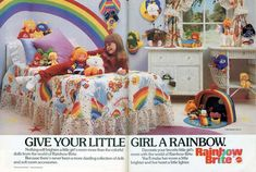 Even if you didn't grow up in the 80s, you'll still probably appreciate the cheesy awesomeness of this cartoon and TV show character branded children's merchandise. These ads were featured in catalogs and urged 80s parents to buy their Americana darlings everything from Cabbage Patch Kid dolls to Garfield sheets. Everything was themed: if you […]