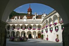 Herberstein Castle in Styria, Austria Austria, Around The Worlds, Mansions, Park, House Styles, Nature, Travel, Home, Palaces