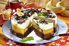 Fantezie exotică Cakes And More, Oreo, Cheesecake, Cooking Recipes, Pudding, Tasty, Foods, Lifestyle, Food Food