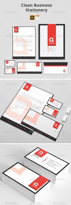 Business stationery pinterest stationery printing print clean business stationery stationery print templates accmission Gallery