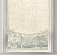 Belgian Opaque Linen Relaxed Roman Shade