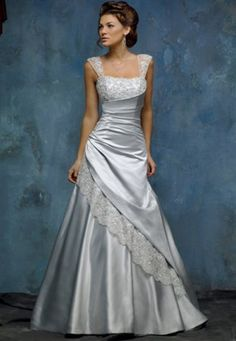 50 Shades Of Grey Gowns Luv Bridal – The Knot
