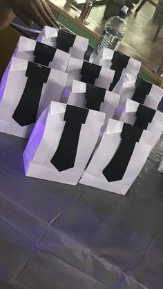 Suit and Tie backdrop display, new years or men's party
