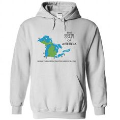 The North Coast of America Hoodie T Shirts, Hoodie Sweatshirts
