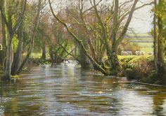 Peter Barker, oil.