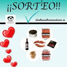 Sorteo San Valentin, Lote Productos Cena Romántica, Embutidos y Jamones Vazquez