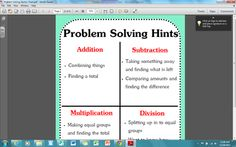 Problem+Solving+Hints+from+Teach+it+2Me+on+TeachersNotebook.com+-++(1+page)++-+Problem+Solving+Hints!