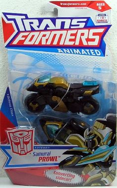 Transformers Animated Deluxe Figure Samurai Prowl -- Continue to the product at the image link.Note:It is affiliate link to Amazon.