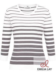 Schicker Streifen-Pullover von Peter Hahn, jetzt shoppen bei Emilia Lay!