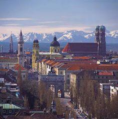 Munich, Germany and of course the Hofbrauhaus am Platz!